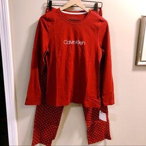 Calvin Klein Logo Pajama Set